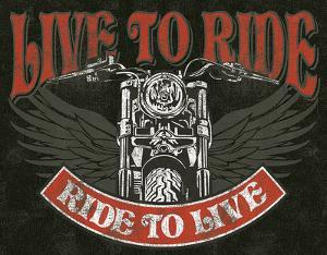 Live to Ride - Bike