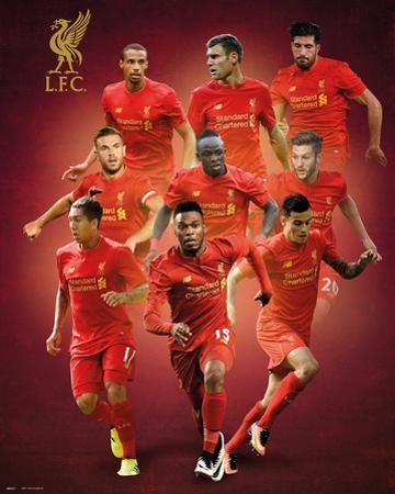 Liverpool F.C.- Players 16/17