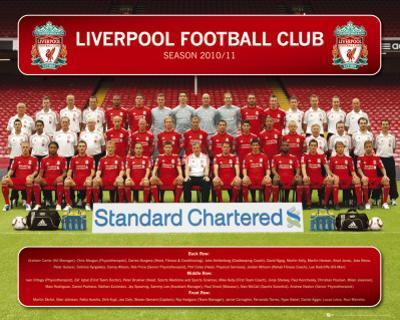 Liverpool - Team Photo 10/11