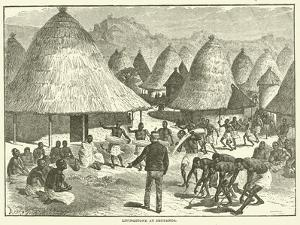 Livingstone at Shupanga