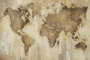 Map of the World by Liz Jardine
