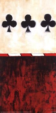 Three of Clubs by Liz Jardine