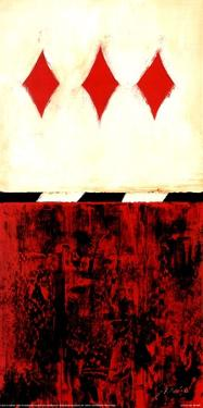 Three of Diamonds by Liz Jardine