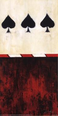 Three of Spades by Liz Jardine