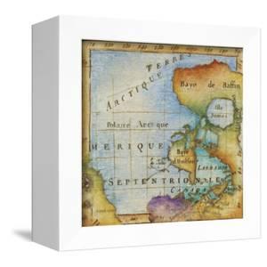 World Map I by Liz Jardine