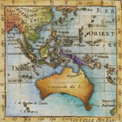 World Map II by Liz Jardine