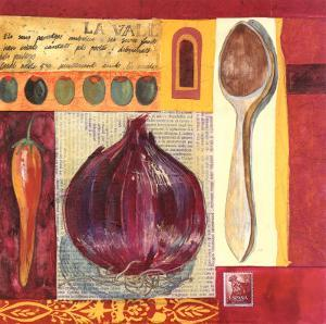 Spanish Kitchen I by Liz Myhill