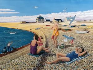 Cheeky Sea Gulls, 2005 by Liz Wright