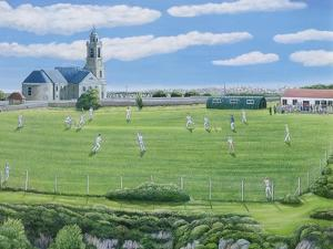 Cricket Match on Portland by Liz Wright