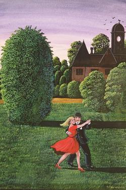 Dancing the Fandango, 1982 by Liz Wright