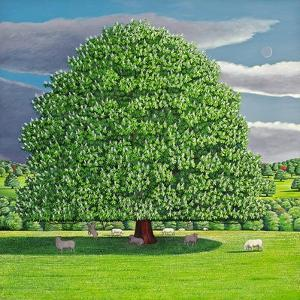 Homage to Horse Chestnut Tree, 2012 by Liz Wright
