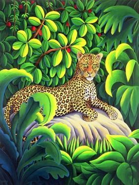 Leopard, 1993 by Liz Wright
