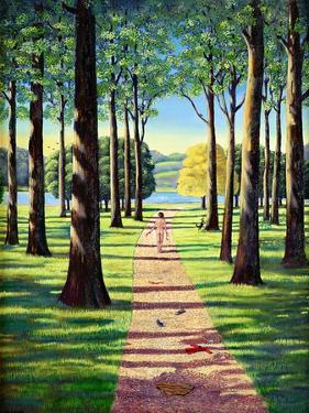 Stroll in Richmond Park, 1995 by Liz Wright