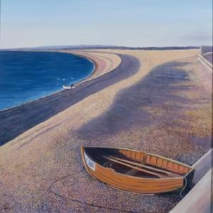 The Chesil Beach, 2000 by Liz Wright
