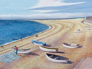 The Chesil Fleet, 2000 by Liz Wright