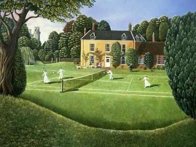 The Tennis Match, 1980