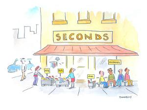 Second Hand Store. - Cartoon by Liza Donnelly