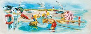 Plage et Pêche by Lizie