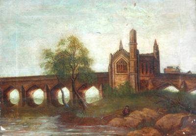 Chantry Chapel of St Mary the Virgin, Kirkgate, Wakefield, c.1850 by Lizzie Ramsden