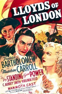 Lloyd's of London - Movie Poster Reproduction