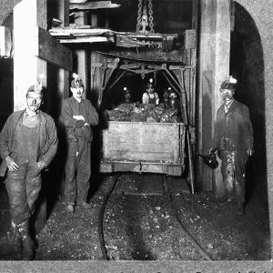 Loading Cage with Car of Coal