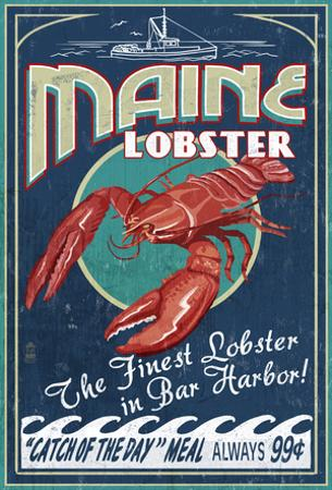 Lobster - Bar Harbor, Maine