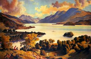 Loch Lomond, LNER and LMS Poster, circa 1940s