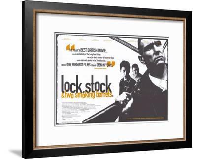 Lock Stock and 2 Smoking Barrels--Framed Masterprint