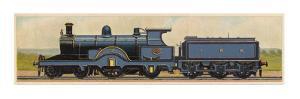 Locomotive 10 of the Great Eastern Railway