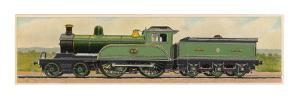 Locomotive 1870 of the North Eastern Railway