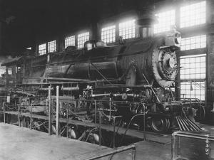 Locomotive Testing Plant, Pennsylvania Railroad Laboratories, Altoona, Pennsylvania, C.1914