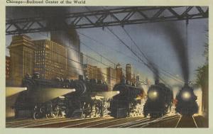 Locomotives, Chicago, Illinois