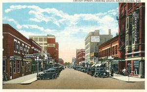 Locust Street, Grand Island, Nebraska