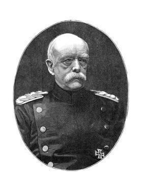 Otto Von Bismark, 19th Century German Statesman by Loescher and Petsch