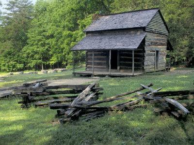 Great smoky mountain national park posters at for Dennis mill cabin