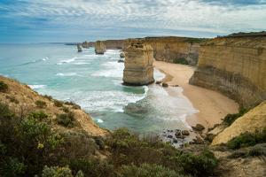 The Twelve Apostles geological formation a couple hours from Melbourne, Victoria, Australia by Logan Brown