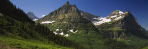 Logan Pass, U.S. Glacier National Park, Montana, USA