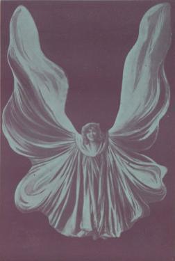 Loie Fuller (Mary Louise Fuller) American Dancer as le Papillon de Nuit at the Bouffes-Parisiens