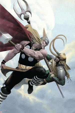 Loki No.2 Cover: Thor and Loki