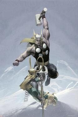 Loki No.3 Cover: Thor and Loki