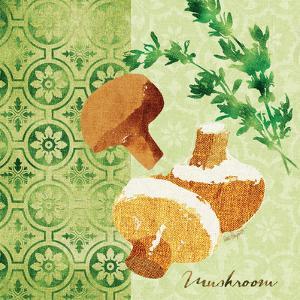 Fresh Linen Mushroom by Lola Bryant