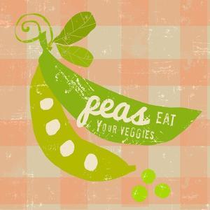 Gingham Peas by Lola Bryant
