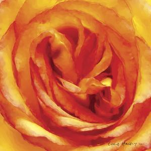 Painterly Flower I by Lola Henry
