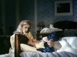 LOLITA, 1962 directed by STANLEY KUBRICK Sue lyon / James Mason (photo)