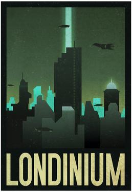 Londinium Retro Travel Poster