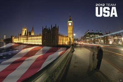 London 2012 Olympics - Team USA - Flag