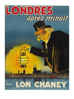 """London after Midnight """"Londres Apres Monuit"""""""