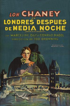 "London after Midnight ""Londres Despues De Media Noche"""