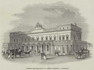 London and Brighton Railway, Brighton Terminus