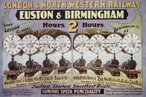 London and North Western Railway, Euston and Birmingham